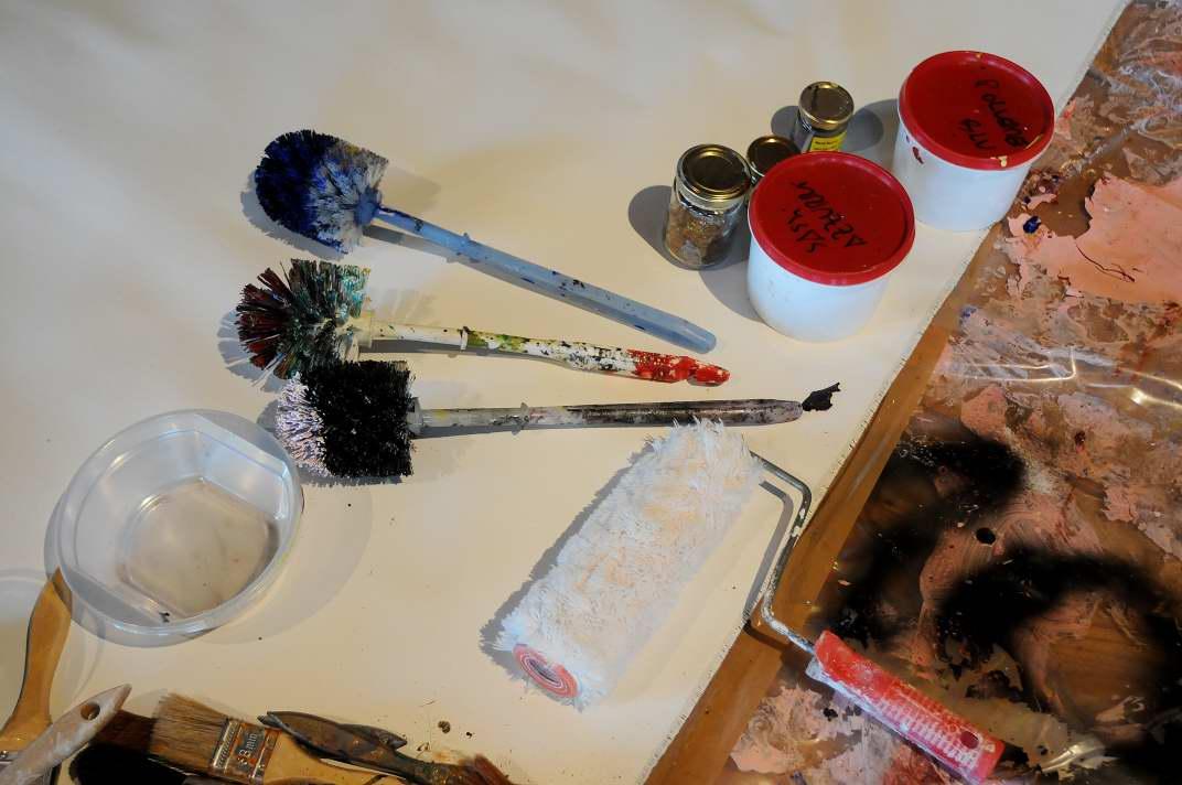 Incentivazione - Active Painting - Team Building Verona - Coloplast - strumenti in dotazione