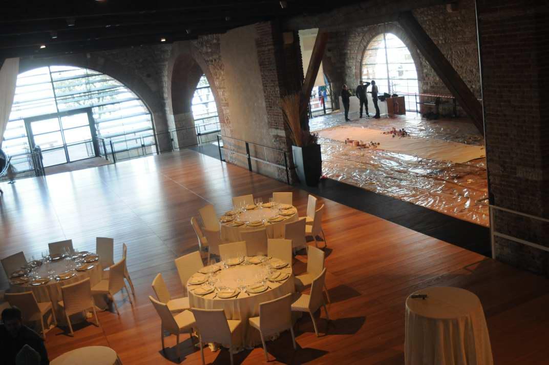Incentivazione - Active Painting - Team Building Verona - Coloplast - set up location