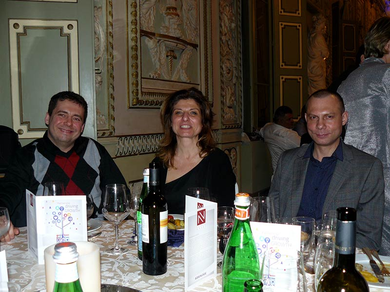 Cena di Gala Evento Datalogic 6 Febbraio 2014 Bologna
